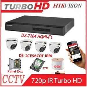 4 x HD Outdoor 720P