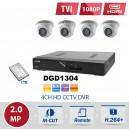 4 x HDCCTV - 2.0MP