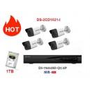 Paket IP Kamera 2MP - HikVision