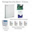 Paket Alarm - 4 Zones